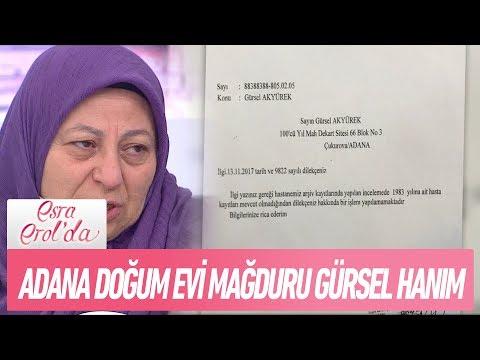 Adana Doğumevinin başka bir mağduru Gürsel Hanım canlı yayında - Esra Erol'da 5 Aralık 2017