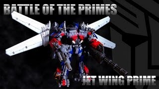 Battle of the Primes (Jet Wing Optimus Prime Stop Motion)