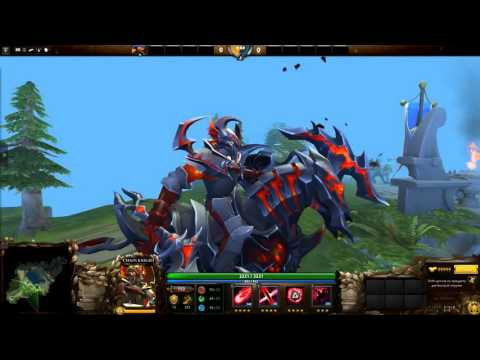Charge of the Baleful Reign Chaos Knight's.