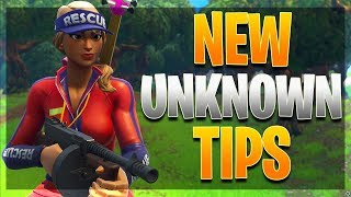 NEW UNKNOWN PRO TIPS YOU NEED TO KNOW! (Fortnite Battle Royale)