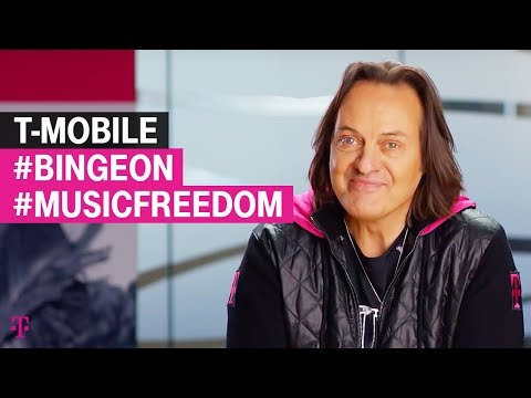 T-Mobile's @JohnLegere Amps up #MusicFreedom and #BingeOn AGAIN!