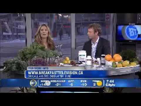 Dr Dempster on Breakfast Tv