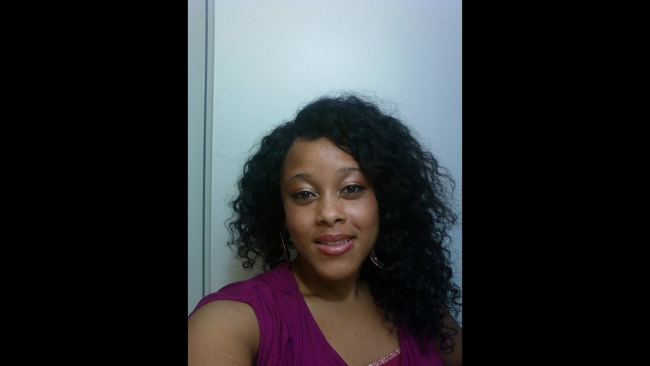 Curly 14 Inch Curly Invisible Part Model Model Sassy