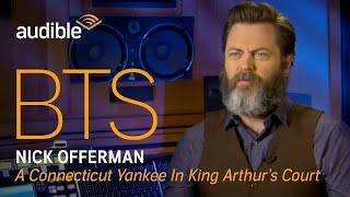 Behind the Scenes with narrator Nick Offerman