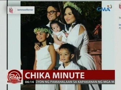 24 Oras: Ryan Agoncillo at Judy Ann Santos, nag-renew ng vows sa kanilang 7th anniversary