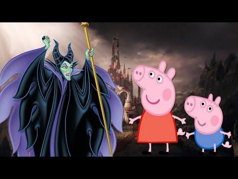мультики свинка пеппа академия волшебства