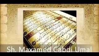 download lagu Tafsiir Surah 101 Al-qaricah - Sh. Maxamed Cabdi Umal gratis