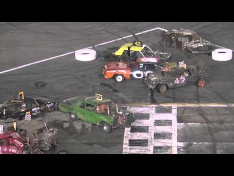 Demolition Derby - Irwindale Speedway - April 6, 2013