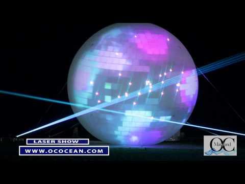 """Laser Shows"" - Sunday Nights - Ocean City MD 2012"
