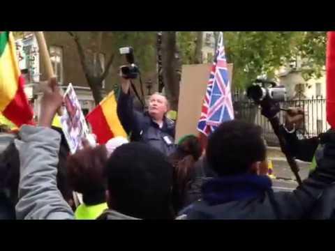 Ethiopians Demonstration  London