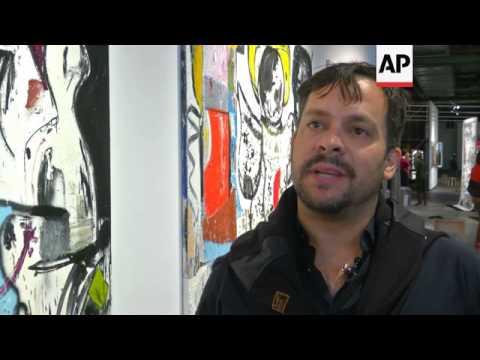 Berlin fair showcases global contemporary art