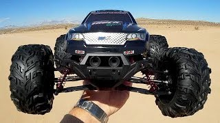 Xinlehong 9125 Stable 4WD 1 10 Scale RC Car Test Drive Review