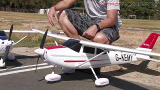 New Airfield 4Ch Brushless Sky Trainer Review