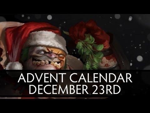 Dota 2 Advent Calendar December 23rd