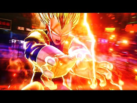 8 Minutes Of New Jump Force Gameplay - Vegeta, Blackbeard, Gon, And More