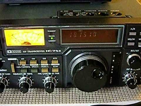 ICOM IC 751 DISPLAY DIMMING