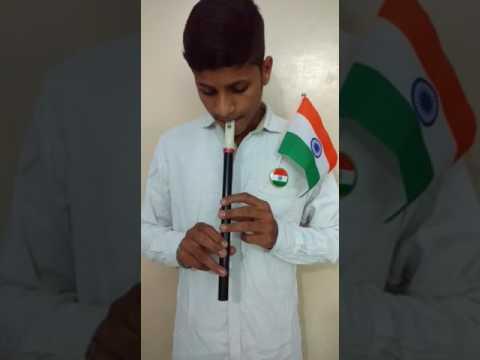 National anthem on flute