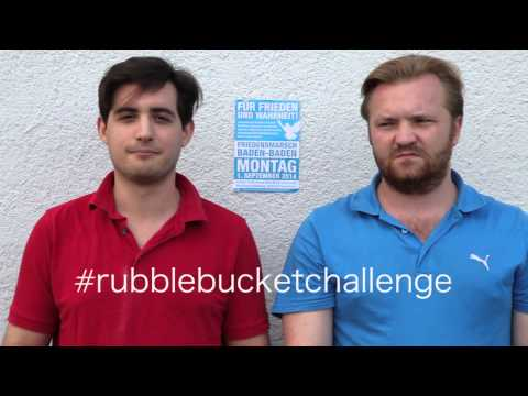 Rubble Bucket Challenge - Baden-Baden 2014