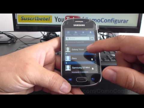 como Exportar contactos a la micro SD samsung galaxy Fame S6810 español Full HD