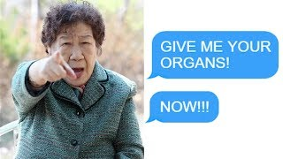 "r/Entitledparents - ""GIVE ME YOUR ORGANS! NOW!!!"""