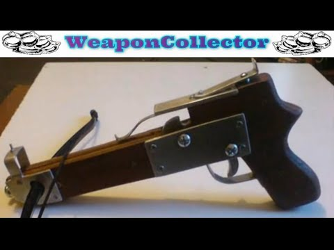 How to make a Pistol Crossbow Part 16 -  Finished Crossbow. Shooting & Tips.