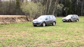 Test Citroen C-Crosser and Hyundai santa fe. Часть 7. Final