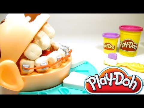 Play-Doh Dentist Doctor Drill 'N Fill Playdough Dentist Hasbro Toys
