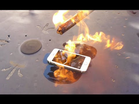 Rest In Peace iPhone 5S - Torch/Hammer Test
