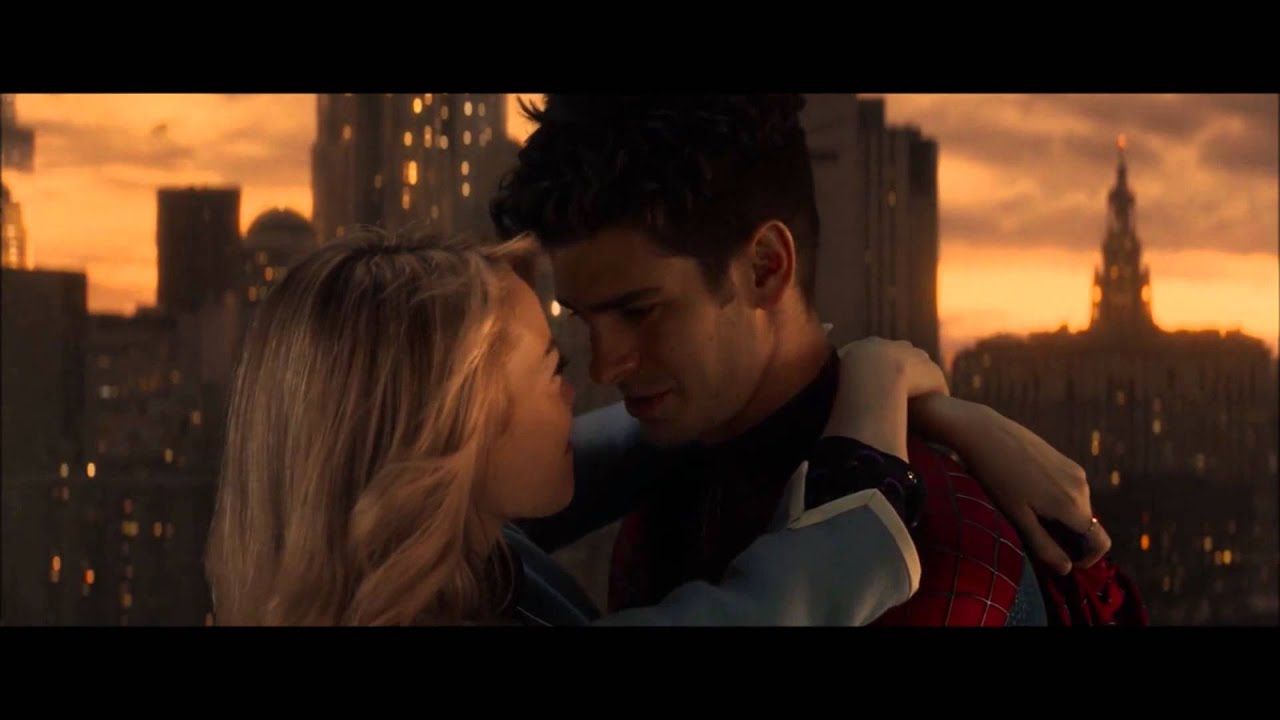 The Amazing Spiderman 2 Kiss Scene You Are My Path