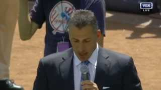 Andy Pettitte's induction speech