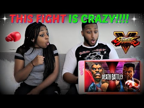 ScrewAttack! Balrog VS TJ Combo (Street Fighter VS Killer Instinct)   DEATH BATTLE REACTION!!!!