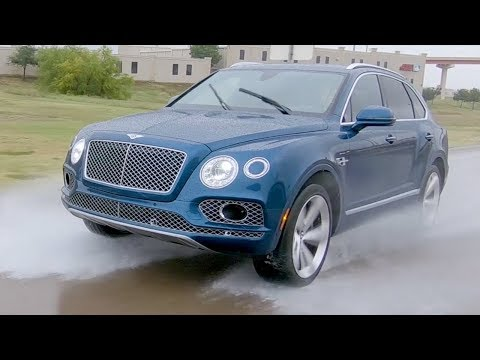 2018 Bentley Bentayga Test Drive