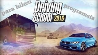 Driving school 2016 Hilesi turkce (ios)(android)