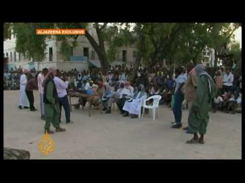 Somali fighters destroying shrines - 20 Dec 08