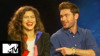 The Greatest Showman: Zac Efron & Zendaya's Funniest Moments Together | MTV Movies