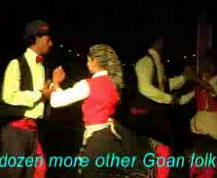 Goa   Portuguese Folk Dance 'corridinho'  'Ò Malhao' video