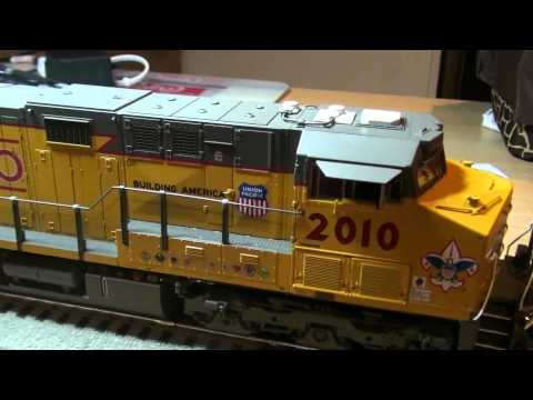 Lionel Legacy Union Pacific Boy Scouts of America ES44AC Diesel Loco Review
