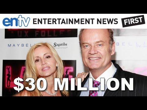 Kelsey Grammer Pays Ex-Wife Camille $30 Million In Divorce Settlement: ENTV