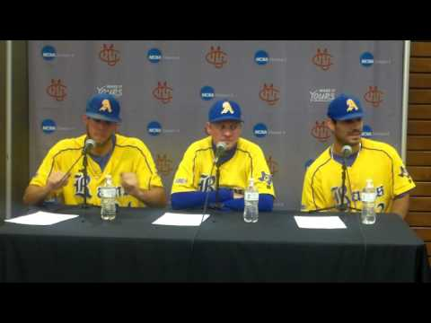 Angelo State Post Game 1