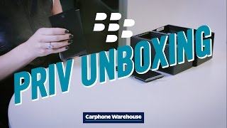 PRIV™ by BlackBerry® unboxing