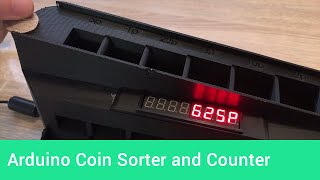 How to build an Arduino coin sorting and counting machine