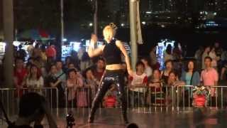 Waacking by Virago Carmen @ Victoria Harbour HK-May 18 2013