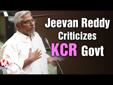 T Congress Jeevan Reddy criticizes KCR government - T Assembly (10-03-2015)
