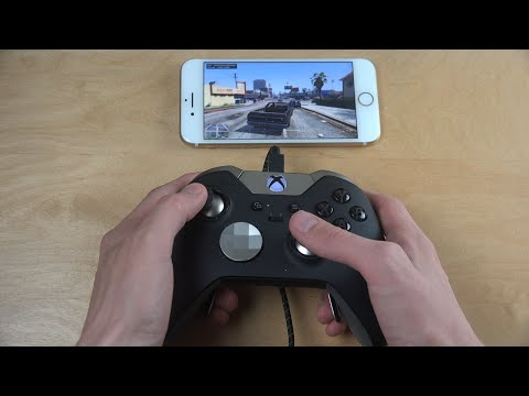 GTA 5 iPhone 7 NVIDIA GameStream Xbox Elite Gamepad Moonlight Gameplay Review!