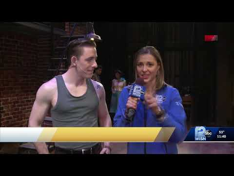 "KISS ME, KATE at Skylight Music Theatre on WISN performing ""Too Darn Hot"""