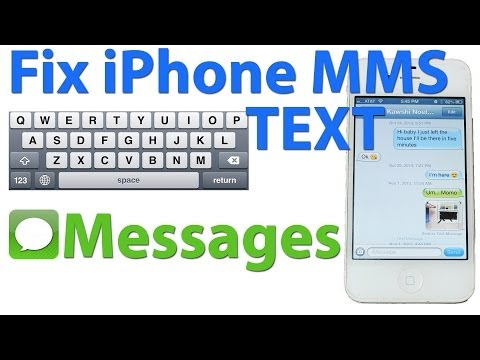 #1 Solution: Fix Photo Texting on ANY iPhone   Repair MMS Messaging
