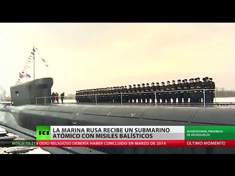 Un nuevo submarino nuclear ingresa en la Armada rusa