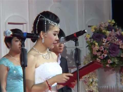Big Wedding in Cambodia ,Sam dach daed Jo HUn sen dance
