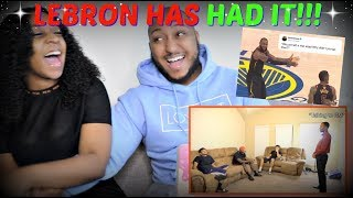 "RDCworld1 ""NBA FINALS 2018 ALL LEBRON IN THE LOCKER ROOM VIDEOS!"" REACTION!!"