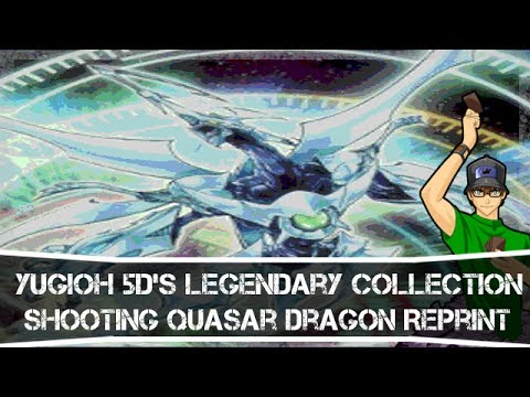 Yugioh 5d's Legendary Collection Box Shooting Quasar Dragon Reprint video